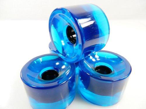ruedas60mm pro gel color longboard skateboard wheels (gel..
