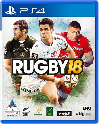 rugby 18 ps4 fisico usado