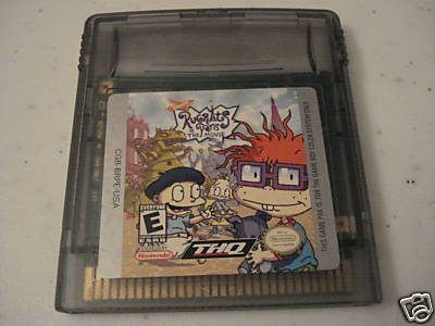 rugrats in paris / the movie / gameboy color gbc / gba