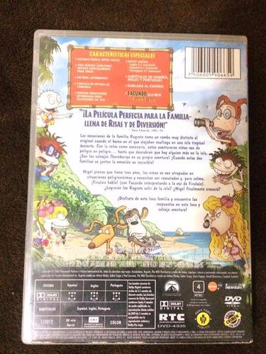 rugrats: vacaciones salvajes dvd