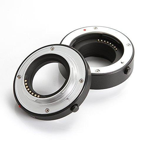 Ruili Tubos de extensi/ón Macro Metal AF 10/mm 16/mm Juego de DG