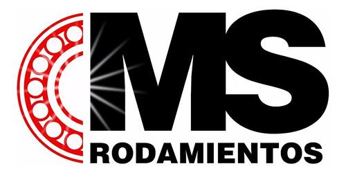 ruleman mr 63 zz 3x6x2.5 ms rodamientos auto escala / riel