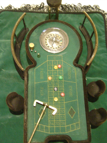 ruleta de juguete miniatura para escritorio!!!
