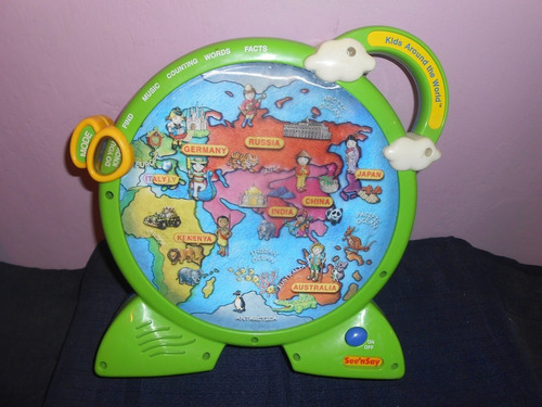ruleta niños alrededor del mundo didactica mattel