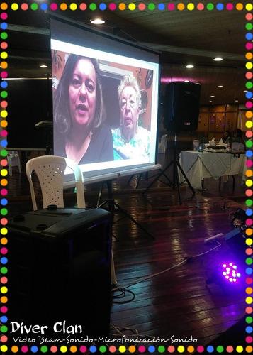 rumba karaoke en bogota alquiler de video beam eventos