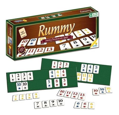 rummy juego de mesa ronda rummi