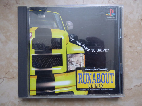 runabout climax playstation 1 ps1 japon