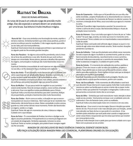 runas das bruxas em pedra natural ônix oraculo wicca
