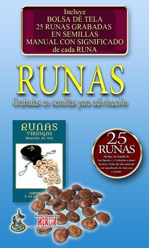 runas de semilla para adivinación - incluye manual de uso