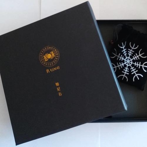 runas vikingas con bolsa y paño + dos pdf  envío gratis