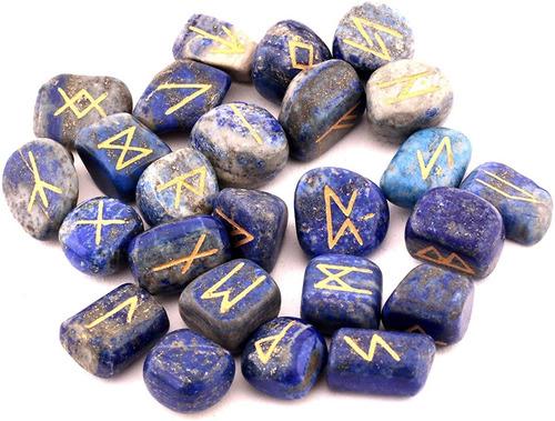 runas vikingas de piedra lapislázuli