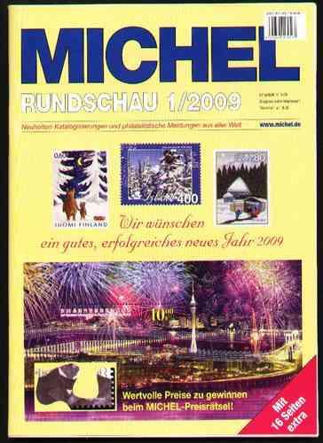 rundschau 2009 suplementos aos catálogos michel