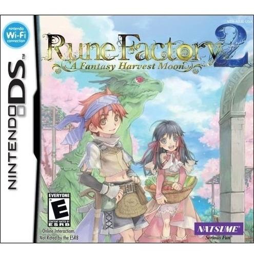 rune factory 2: a fantasy harvest moon - nintendo ds