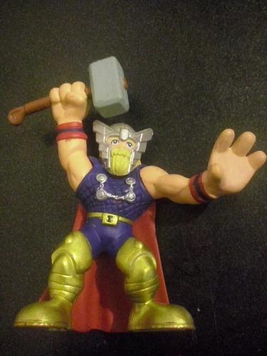 rune king thor marvel super hero squad figura