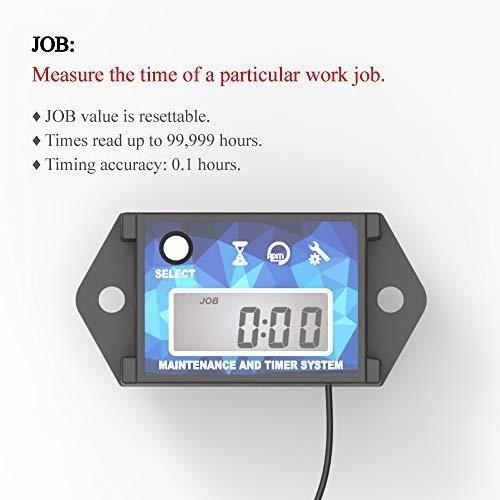 runleader motor cronómetro digital, tacómetro mantenimiento