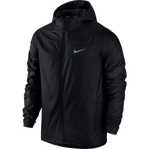 running chaqueta negra para hombre nike-new