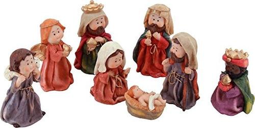 running lp57676 s/8 nacimiento juego de figuras navideñas 8