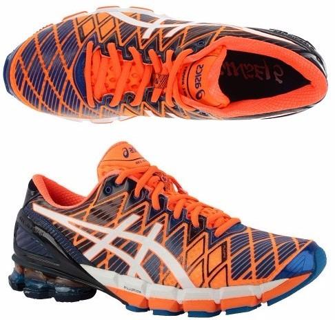 tênis asics kinsei 5 gel running masculino azul e amarelo · tênis asics  running masculino · running masculino tênis asics a3963289dd915
