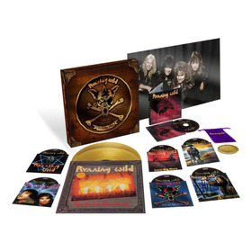 Running Wild-pieces Of Eight-the Singles,live And Rare Box