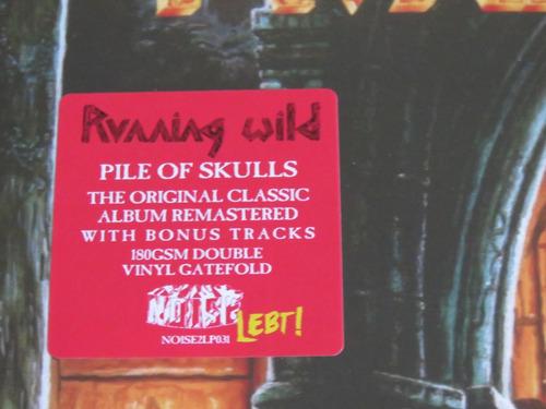 running wild pile of skulls 2 lp 180 gramas frete grátis