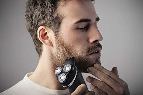 runwe maquinilla de afeitar eléctrica muteshave, máquina