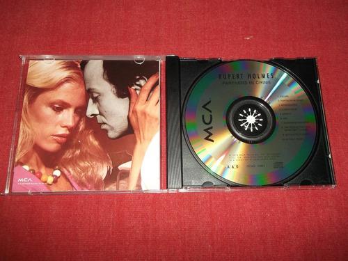 rupert holmes - partners in crime cd imp ed 1990 mdisk