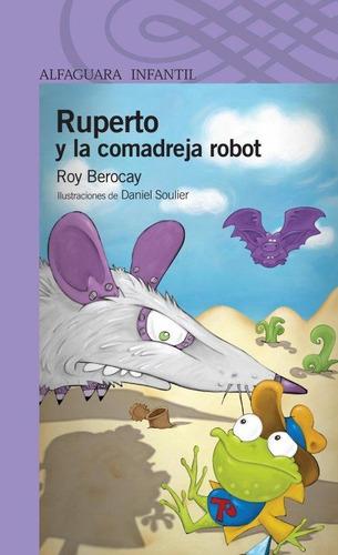 ruperto y la comadreja robot