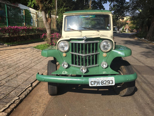 rural bicudinha f 75 f75  willys ford pick up bicudinha