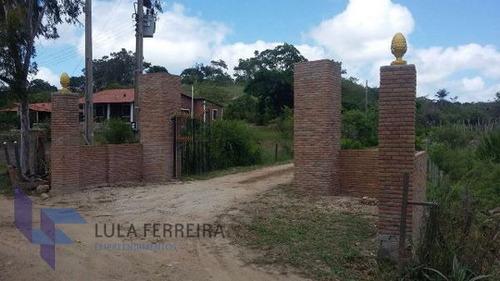 rural chacara com 8 quartos - lf576-v