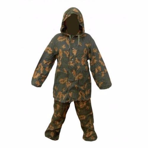 rus traje de malla de camuflaje militar, net kzs, original t