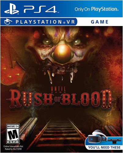 rush of bloor vr ps4 - físico original sellado