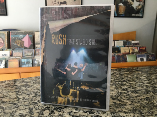 rush - time stand still (dvdr)