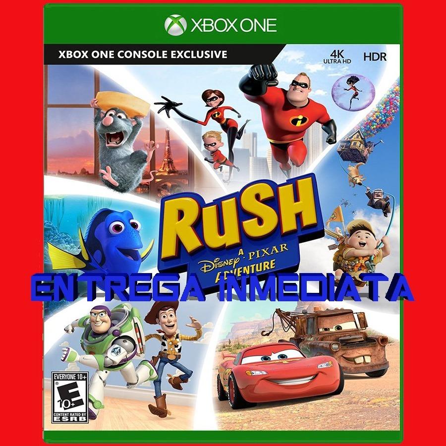 Rush Xbox One Digital Offline Licencia C Kinect Juego Ninos