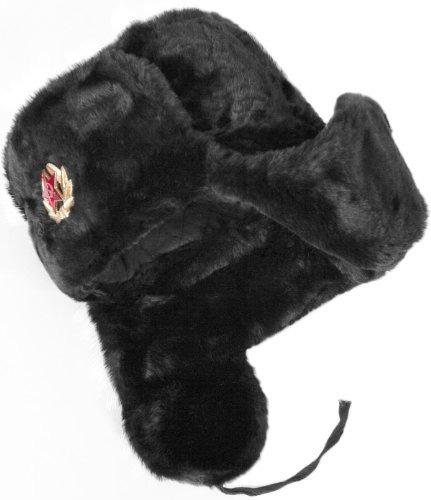 ruso soviético ejército pieles militar cosaco ushanka somb