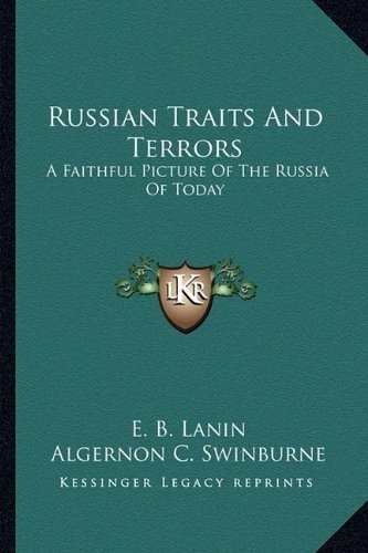 russian traits and terrors : e b lanin