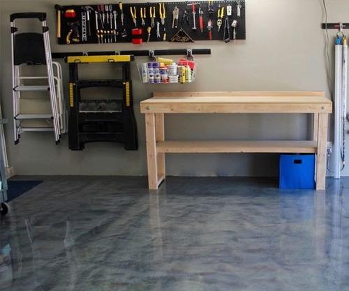 rust oleum porcelanato liquido epoxico autonivelante piso 3d