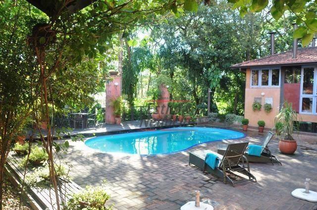rústica! 4 dorms (3 suítes) - piscina aquecida! - ca1767