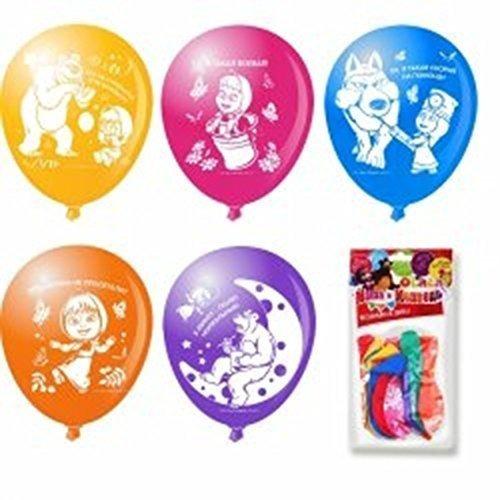 rustoyshop 10 globo inflable masha y oso para una fiesta de