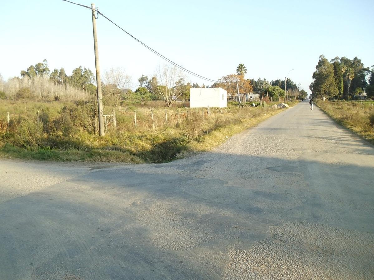ruta 1 vieja  km 28,500 - increíble chacra 6000 m2 c/ casa