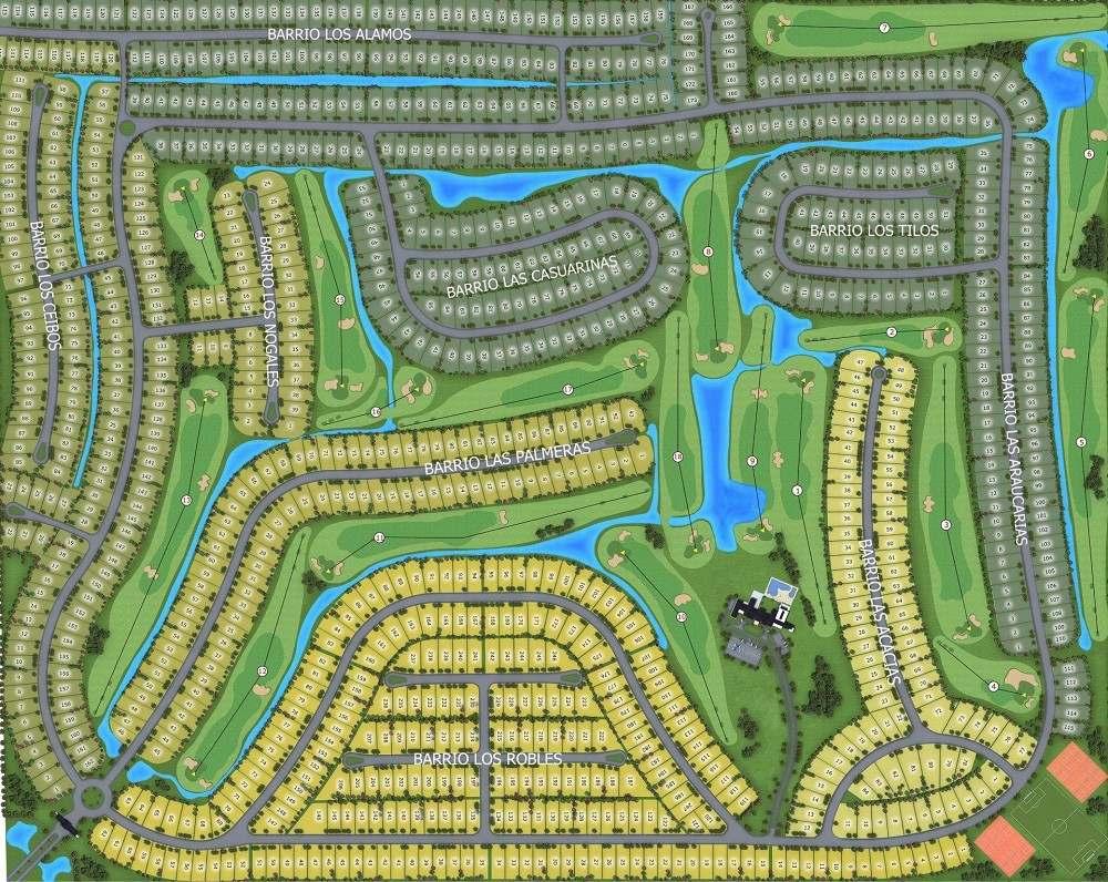 ruta 2 - haras del sur 3 lote al golf ref. 20279