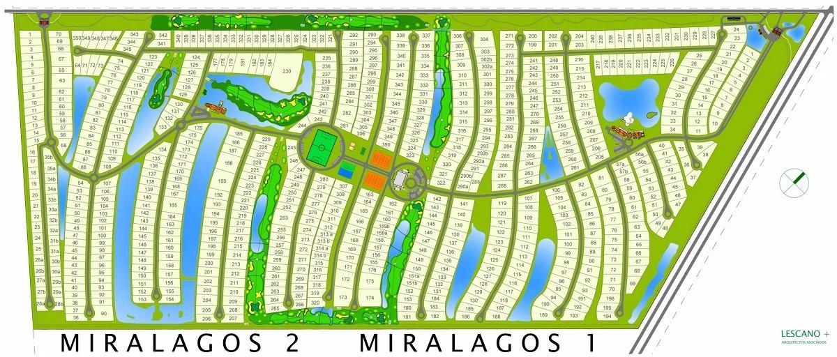 ruta 2 - miralagos/lote vista area verde ref. 19623