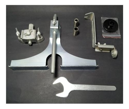 ruteadora industrial con 3 bujes 1/4, 3/8, y 1/2 collet x 3