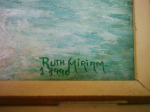 ruth miriam - 1990 - ose - pintura - quadro