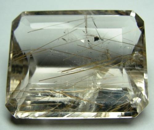 rutilo fios dourados gema rara 100%natural grande 36,10cts
