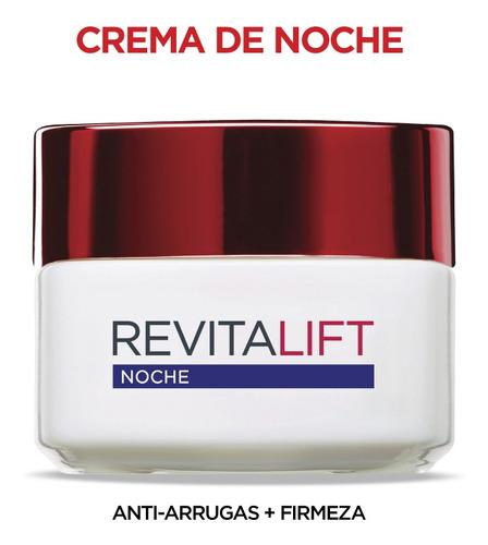 rutina crema antiarrugas + firmeza revitalift l'oréal