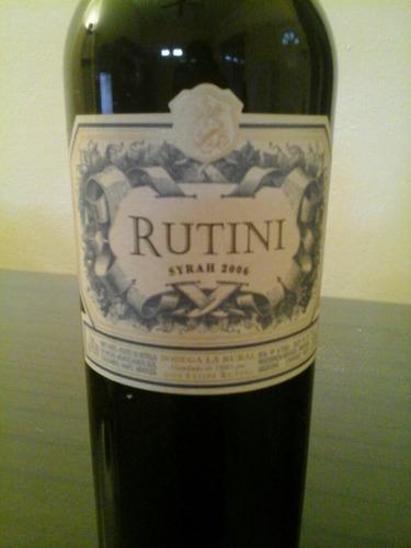 rutini syrah 2006