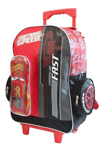 ruz -  disney cars mochila primaria escolar infantil