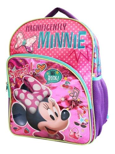 ruz -  disney minnie happy helpers mochila primaria infantil