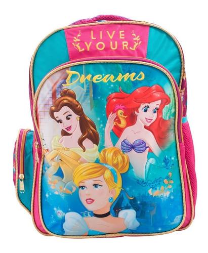 ruz -  disney princesas mochila primaria infantil