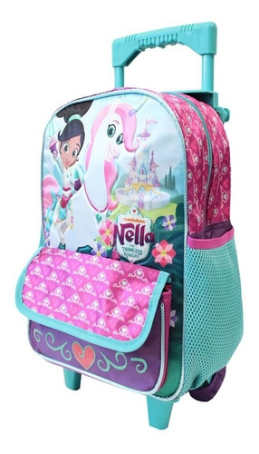 ruz -  nickelodeon nella the  princess k mochila kinder c/r